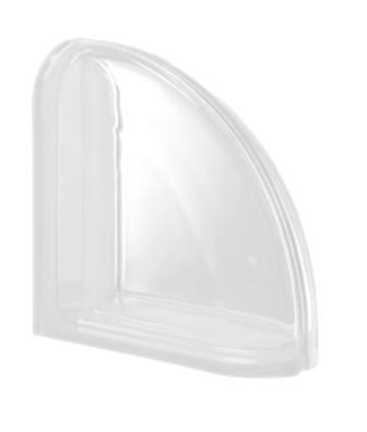 Pustak szklany luksfer Ter Curved Neutro T Seves Design