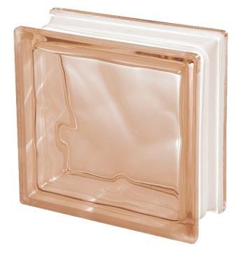 Luksfer pustak szklany Q19 Rosa O Seves Design