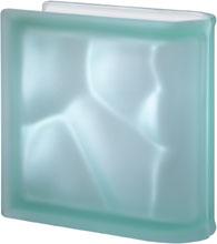 Luksfer pustak szklany Ter Lineare Verde O Sat Seves Design
